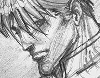 Agent Nemesis-Sketch to Vector
