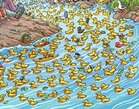 Rubber Ducky Race