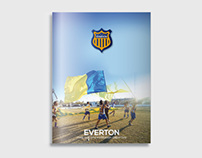 Revista Club Everton La Plata
