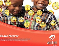 Airtel Nigeria. Good Friends Are Forever Campaign