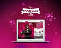 Nocibé - Une nocibelle fête - website