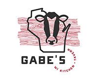 Gabe's Wisconsin Kitchen + Tavern Identity