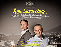 Massimo Ristorante Talkshow Campaign 2015