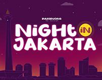 Night in Jakarta Font