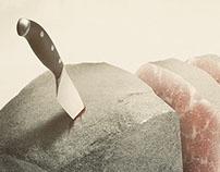 Sliced Rock