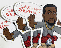 It Ain't Ralph Tho - Stickers