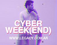 E-COMMERCE // CYBER MONDAY & CYBER WEEK