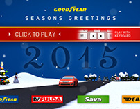 Goodyear Snowdriver browsergame