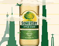 Somersby 2 million liters sold