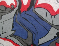 Transformers Graffiti Piece