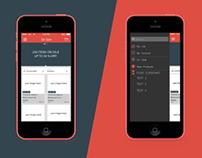 Sales app IOS 7
