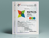 Graphic design works for Ripples 2014