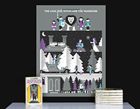 Chronicles of Narnia Screen Printed Posters