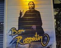 Bar Rasputin Live graffiti projects