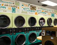 50's Laundromat Environment