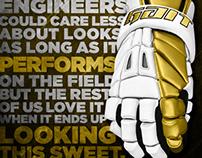 GAIT LACROSSE Recon Pro Glove Ad