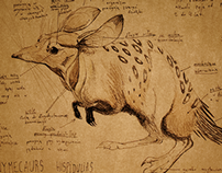 Desert creature design