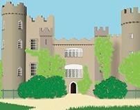 Castle 3D Rendering
