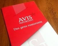 Brochure : Avis Important / Chevrier-Laporte