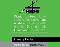 Thurber House Literary Picnics '06 Brochure