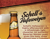 Schell's Beer Discription Posters