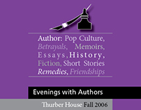 Thurber House Evening with the Authors