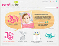 Cardstore Website