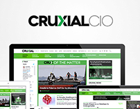 Cruxial CIO Branding and Web design
