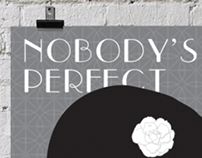 Nobody's Perfect - Silent Film Poster