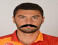 Bıyıklı Kadro | Galatasaray with mustache