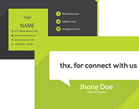 Free Web Developer Business Card