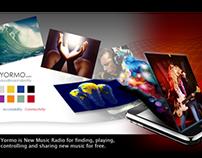 Web Design - Yormo Inc. Music Industry.