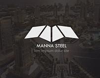 Manna steel Branding