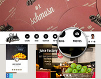 1000 things to do in Vienna - Responsive Website