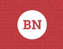 Identidad de la Biblioteca Nacional Argentina