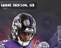 Lamar Jackson iPhone Backgrounds