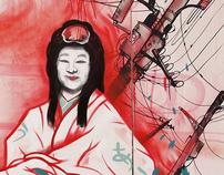 Mural for Japan