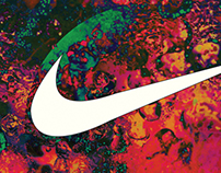 Nike Air Yezzy: Psychedelia