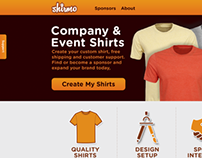 Shirmo Website - Frontend Design