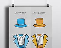 Dumb & Dumber Minimalist Poster