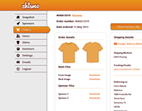 Shirmo - Admin Backend Design