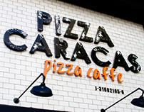 Pizza Caracas Prints and Website Design