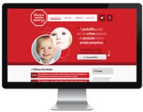 Brasilia contra Pedofilia | Webdesign