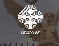 Mexico 68' Logo Re-Design