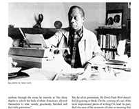 James Baldwin Article
