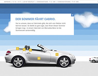 Mercedes-Benz Cabriolets Webspecial