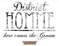 Here Comes The Groom | District Homme Wedding Media Kit