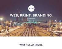 Akin - One Page Template
