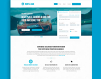 Rent-a-car - Car Rental & Booking Template