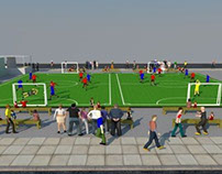 Mizuno's Football Festival in Bonifacio Global City